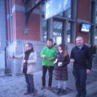 Saint-Valentrain – Pour une gare plus accueillante aux cyclistes et aux piétons