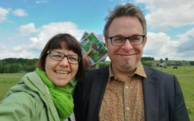 Communales 2018 : Ronny Balcaen et Jessica Willocq pour mener la liste Écolo