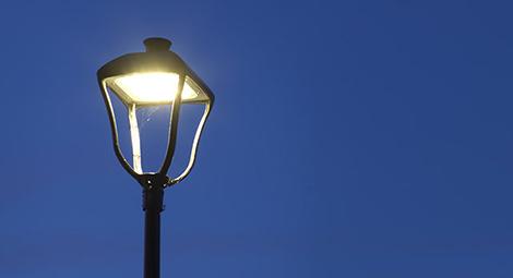 Modernisation du parc d'éclairage